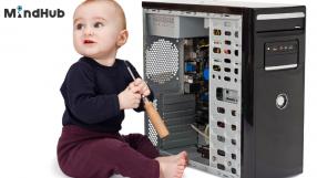 Познава ли моето дете частите на един компютър?